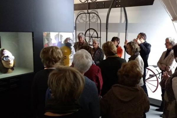 groepsbezoek bizarium museum met gids