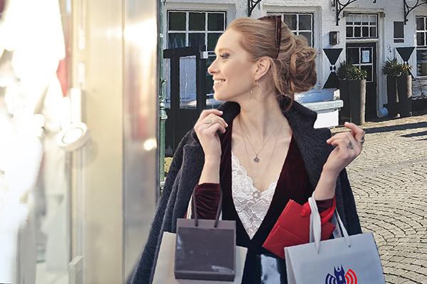 shoppen in Sluis