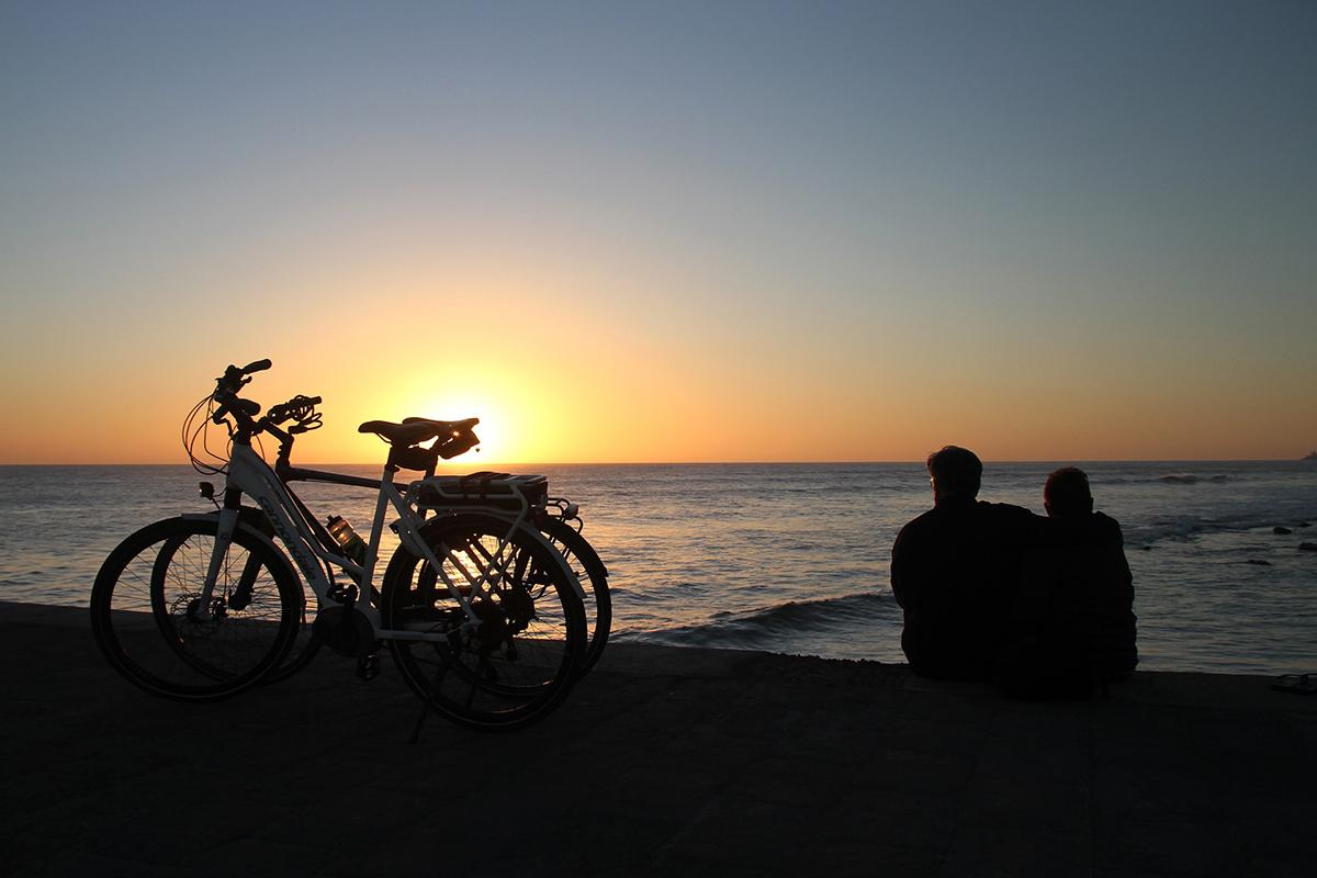 sunset, zonsondergang